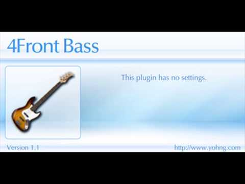 Free VST Bass by 4Front