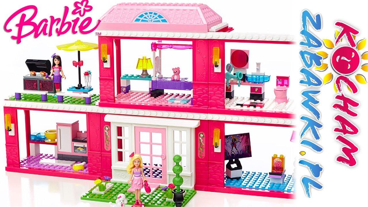 Barbie Mega Bloks • Rezydencja na Wyspach Kanaryjskich • Urządzanie domku • bajki po polsku