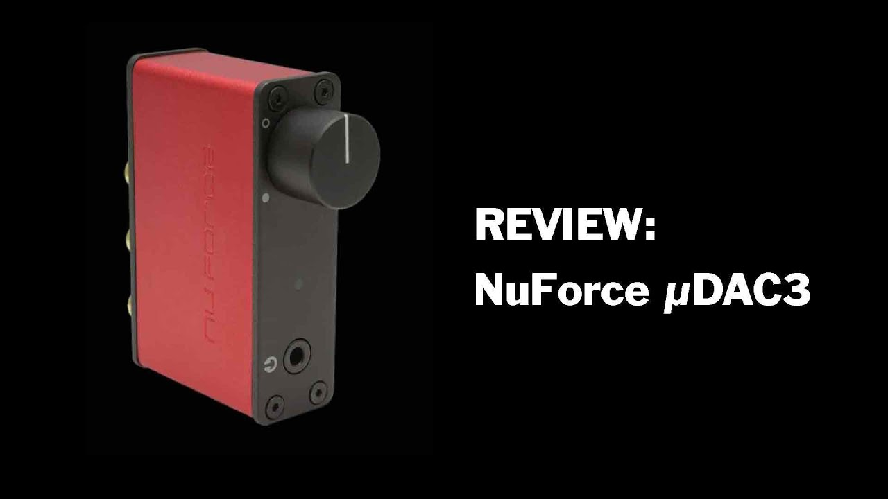 NuForce uDAC3 - USB DAC review