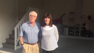 West Bloomfield, MI Garage Epoxy Coating Video Testimonial
