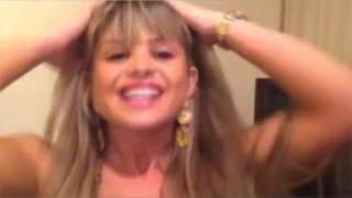 Repeat youtube video Carine Felizardo e Isis Gomes Twitcam