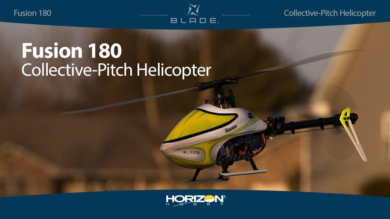 Blade® Fusion™ 180 - BNF Basic Collective-Pitch Helicopter