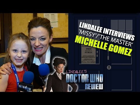 Michelle Gomez interview w/ Lindalee Rose ('Missy/The Master') Doctor Who