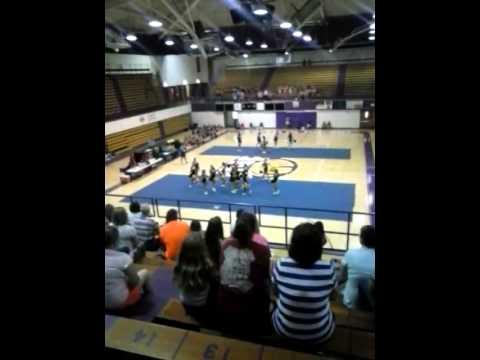 Centre Middle School UNA Cheer Camp