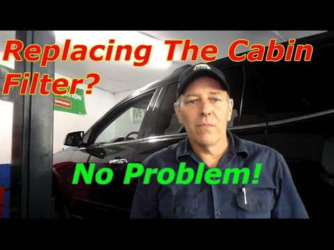 Cabin Air Filter >> How to replace the cabin filter on a Chevy Traverse - YouTube