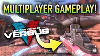 FIRST MULTIPLAYER GAMEPLAY! | Modern Combat Versus (NEW Mobile FPS iOS/Android 2017) screenshot 5