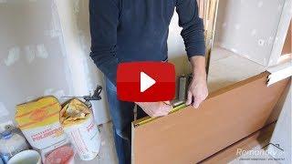 видео Как правильно установить межкомнатную дверь