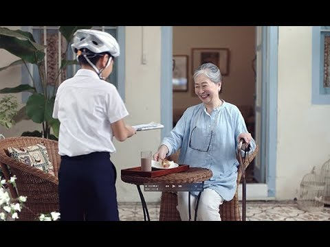 UOB Private Bank 'Newspaper Boy' TV Commercial