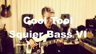 Cool Tool - Squier Bass VI