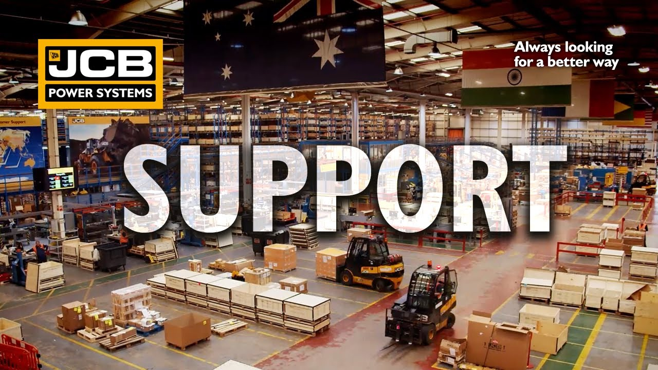 JCB's Engine Dealer Support Network -  JCB Power Systems