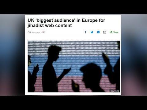 Because Russian flag... BBC blunders on main pic for UK jihadist propaganda story