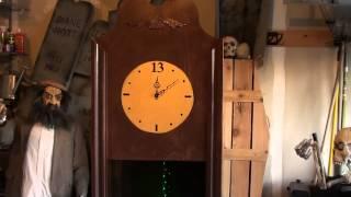 Halloween Grandfather Clock Prop