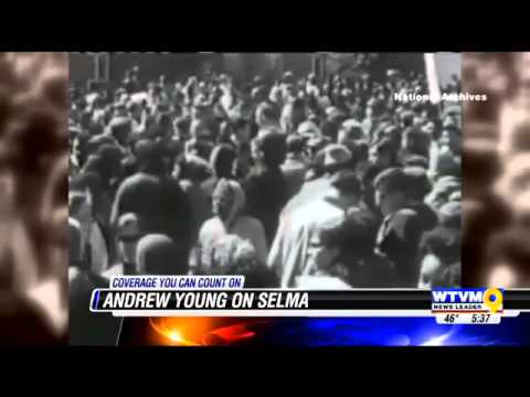 Civil rights activist Andrew Young reflects on Selma March