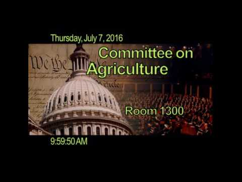 Full Committee RE: Agriculture and National Security: Experiences of Former Military Leaders