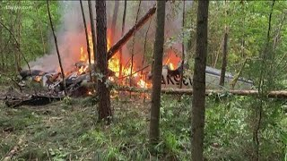 Fiery plane crash in Georgia kills family of 5