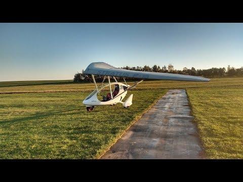 Lot motolotnią Echo