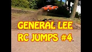 General Lee R/C Car Jumps