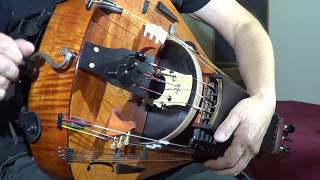 Medieval Tune. Hurdy-Gurdy With Organ