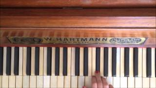 Королек - птичка певчая на пианино (Обучалка)