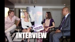 My Interview with Alex Roe, Maika Monroe, and Maia Mitchell about 'HOT SUMMER NIGHTS'