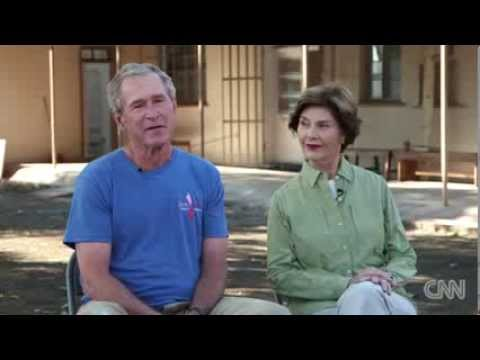 George W  Bush tells Jay Leno Not worried how history will judge