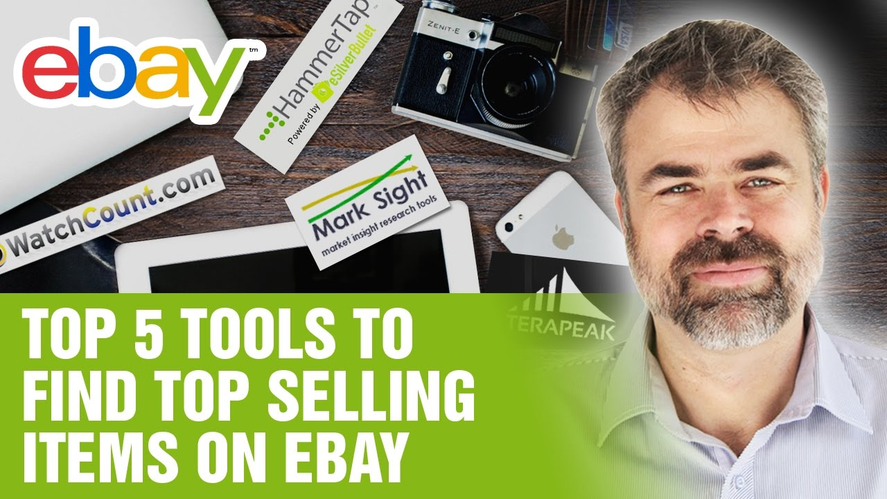 Top 5 Tools To Find Top Selling Items On Ebay Youtube