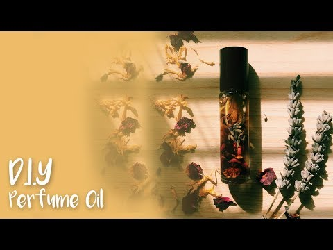 DIY ROLL ON PERFUME | Natural Living DIY EP.5 - YouTube