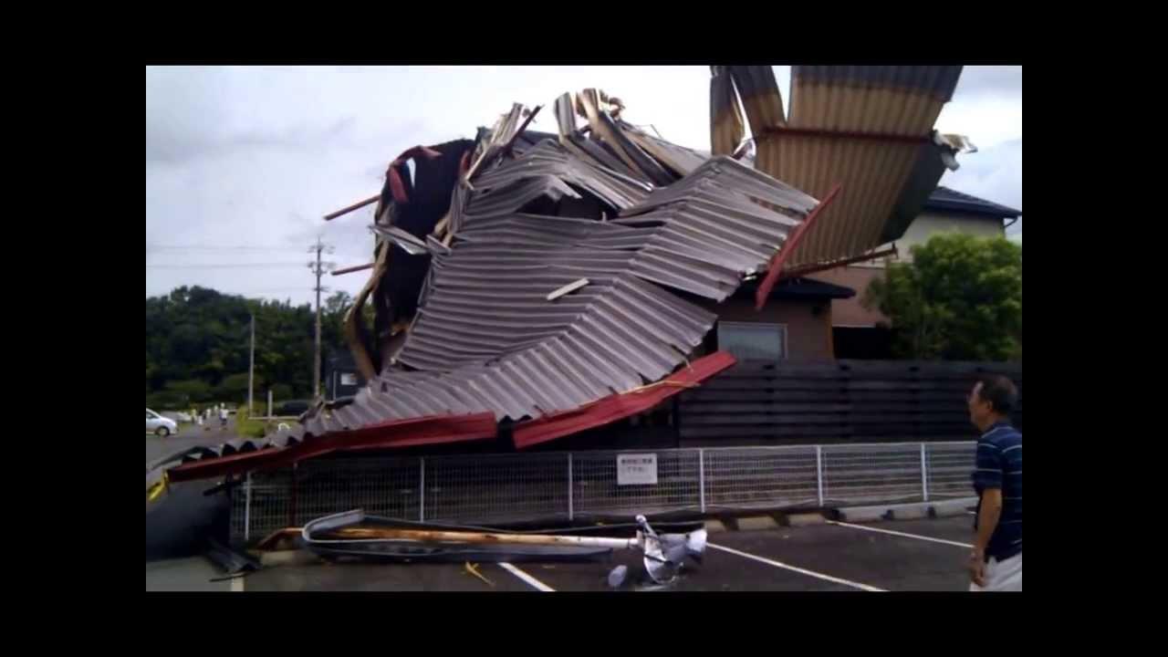 強風で幼稚園の屋根が飛んでった!! 山手幼稚園