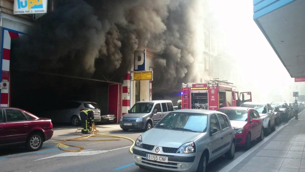 Ahora cantabria incendio en garaje calle san jos youtube - Garaje de coches ...
