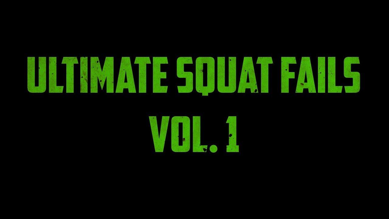 Ultimate Squat Fails - Vol. 1 [gym fails / workout fails / powerlifting fails]