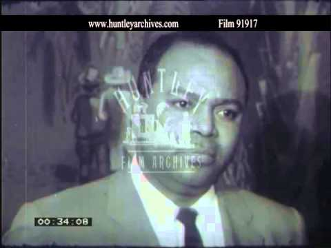 James Farmer on integration in the U.S.A.  Archive film 91917