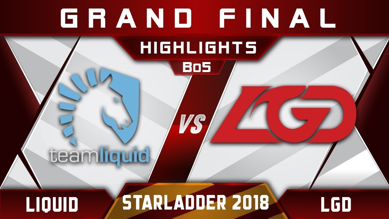 Liquid vs LGD Grand Final Starladder i-League 2018 Highlights Dota 2