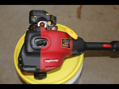 Homelite Ryobi Trimmer Won't Stay Running