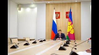 Первый вице-губернатор Кубани рассказал о решении важных краевых проблем и задач