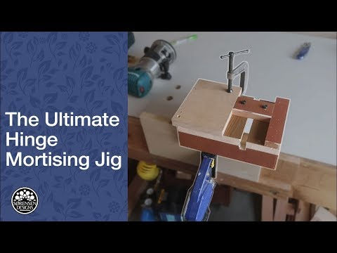 Endless Hinge Mortising  // Woodworking Jig