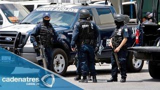 Policía Federal refuerza seguridad en Guerrero