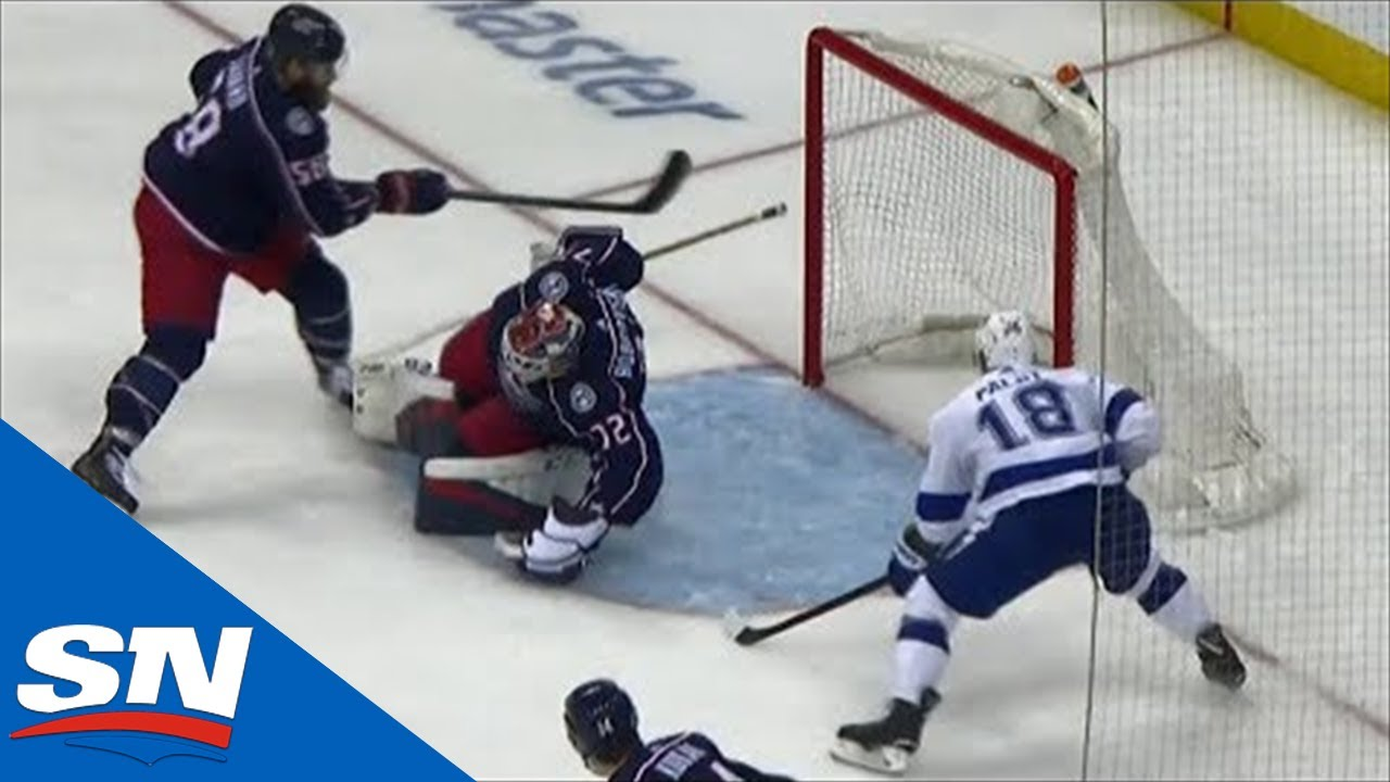 Sweet Lightning Passing Play Leads To Ondrej Palat Beating Sergei Bobrovsky