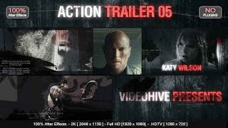 Videohive Action Trailer 5 After Effects Template
