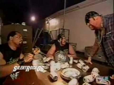 Undertaker & APA Backstage