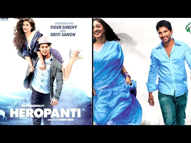 Allu Arjun's Parugu is DUBBED version of Tiger Shroff's Heropanti Film