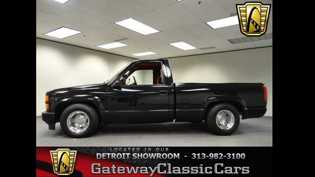 All Chevy 1991 chevy 454 ss for sale : 184 - DET - 1990 Chevrolet C1500 SS 454 - YouTube