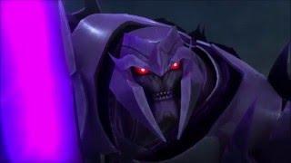 Transformers Prime All Optimus Prime vs Megatron Battles