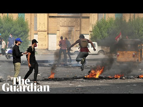 Iraqi security forces open fire on protesters in fatal clashes in Baghdad