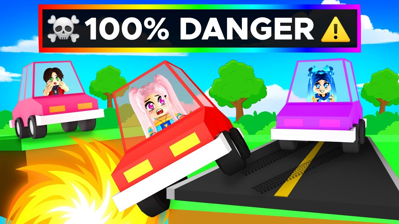 You need 100% SKILL to play Roblox Car Obby!