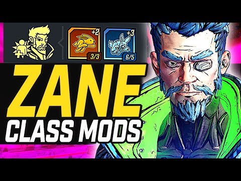 Borderlands 3 | Zane - All Legendary Class Mods & Builds (Tier List)