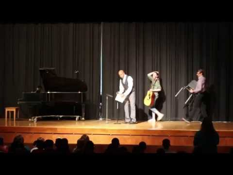 Love at first sight by The Brobecks talent show cover by Lauren P.