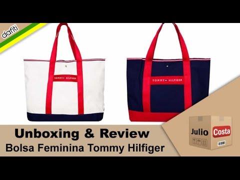 cb8ea45f9 Unboxing Dafiti - Bolsas Tommy Hilfiger - YouTube
