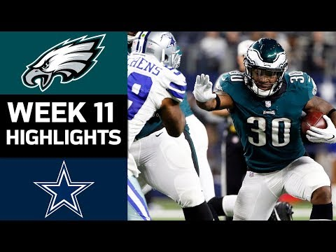 Eagles put Cowboys, NFC East i eagles