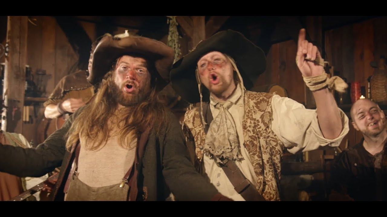 KNASTERBART - Kneipenschlägerei (Official Video)   Napalm Records