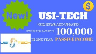 *Big News* USI-Tech New Major Updates! TechCoin, Mining, New Packages and 2018 Events
